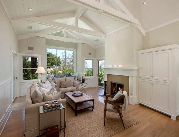 white-vaulted-ceiling-design-white-walls-wooden-flooring-neutral-colors-furniture