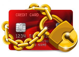 Gold-Lock-Credit-Card-Design-Vector