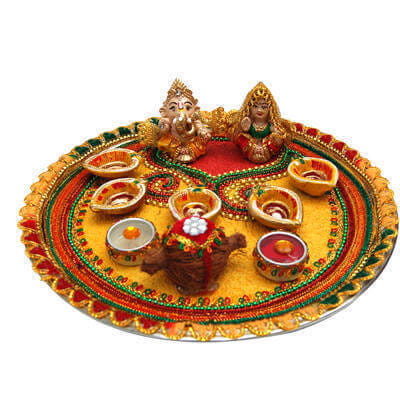 Diwali-aarti-thali-decoration-idea