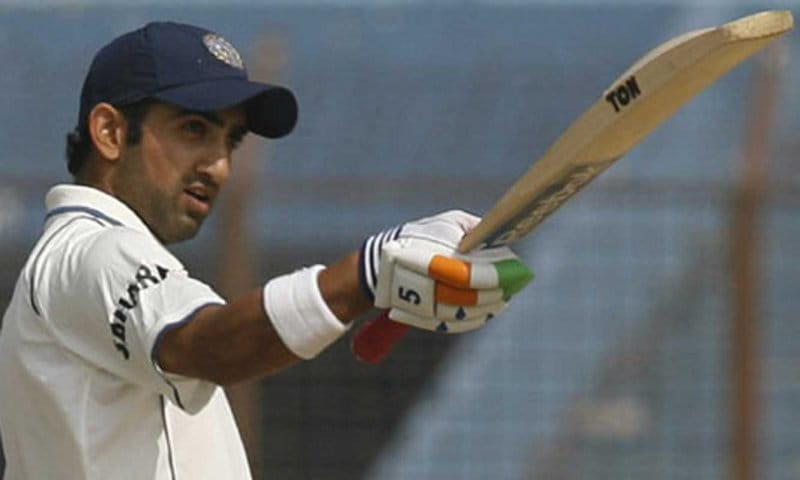 Gautam-Gambhir-In-Test-Match