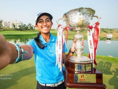 Golfer Aditi