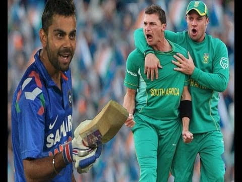 virat and south africa baller dale stain