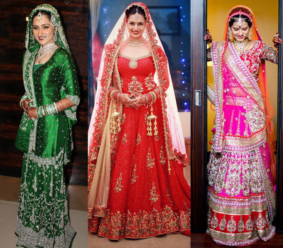 Indian TV Divas In Their Real Life Bridal Look