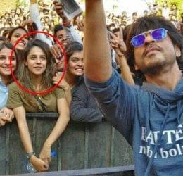 Shahrukh khan selfie