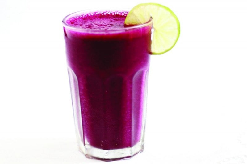 10 beetroot juice