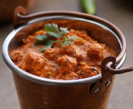 Spicy Kolhapuri Soya Curry