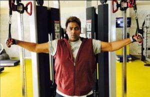 गणेश आचार्या ने घटाया 85 किलो