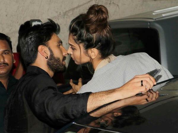 रणवीर-दीपिका के Kiss से भंसाली परेशान, ब्रेकअप की ख़बर थी अफ़वाह