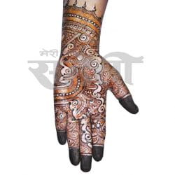 Indo Arabic Mehandi Designs