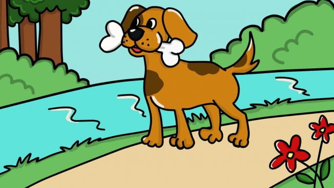 Panchtantra Ki Kahani: The Greedy Dog