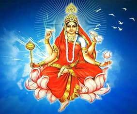 Navratri Devi maa Siddhidatri