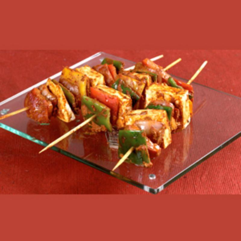 पॉप्युलर एपेटाइज़र, टैंगी पनीर बार्बेक्यू, Popular Appetizer, Tangy Paneer Barbeque