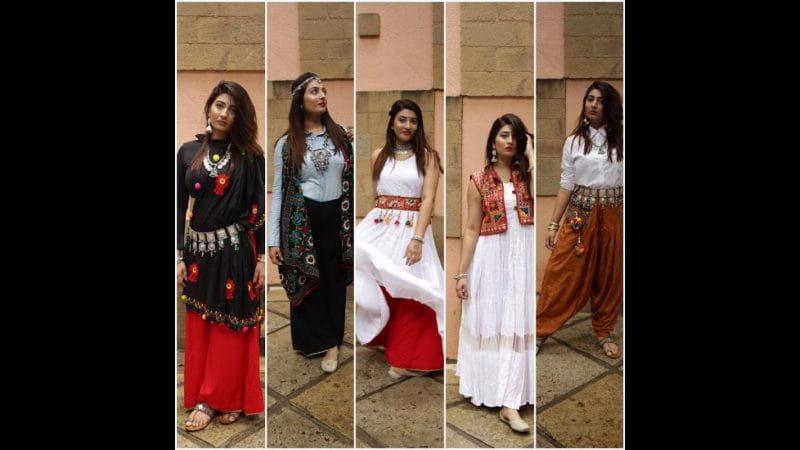 नवरात्रि, टॉप फ्यूज़न लुक्स, Top Fusion Looks, For Navratri