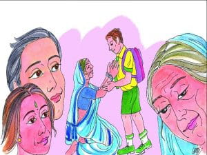 कहानी, Short Story, Boodha Virksh