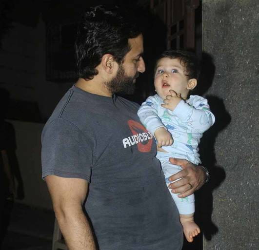 Cute Taimur Ali Khan