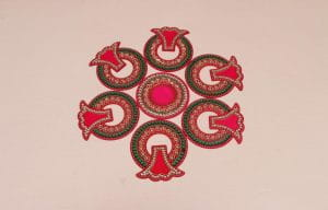 Decorative Acrylic Rangoli