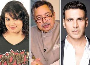 Akshay Kumar, Mallika Dua, vinod dua controversy