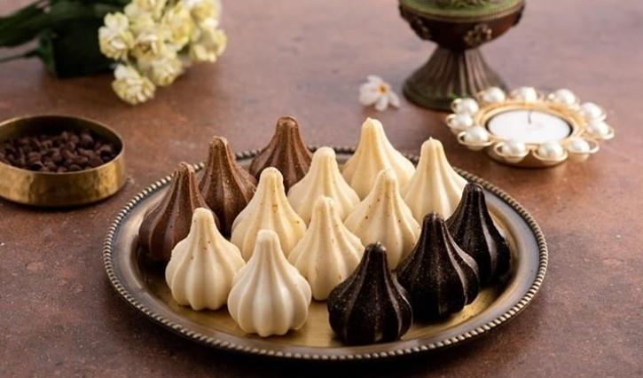 Walnut-Chocolate Modak
