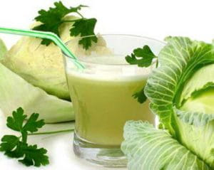 Health Benefits Of Cabbage Juice
