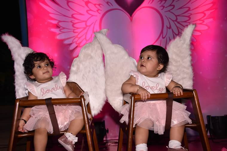 Karanvir Bohra, Raya Bella, Vienna, first birthday party
