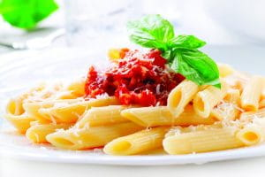 Pasta-Tomato Salad