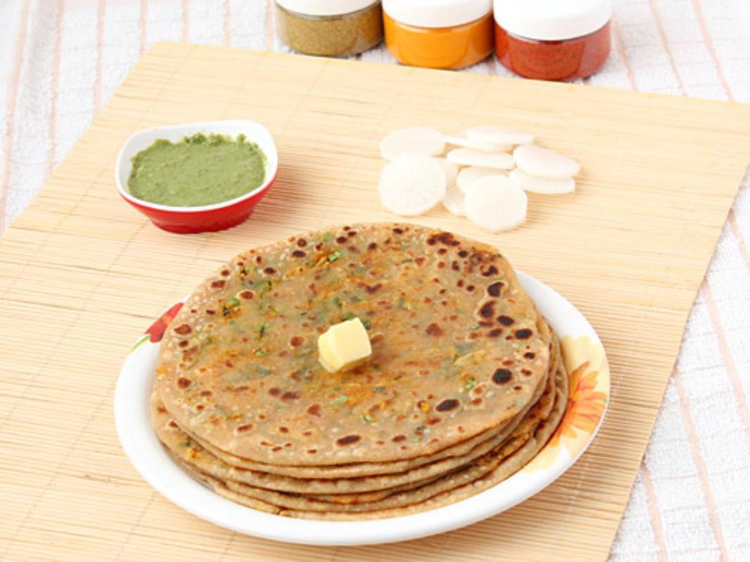 Stuffed Mooli Paratha