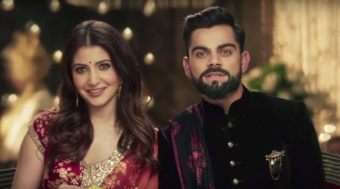 Virat-Anushka Takes Wedding Vows