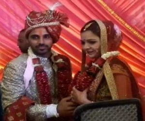 Bhuvneshwar Kumar Ties The Knot With Nupur
