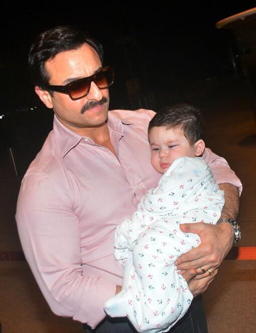 Saif Ali Khan Gifts Taimur A Car