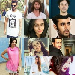 indian Tv stars cheers from childhood to now