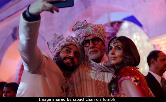 Amitabh Bachchan shares wedding album pics