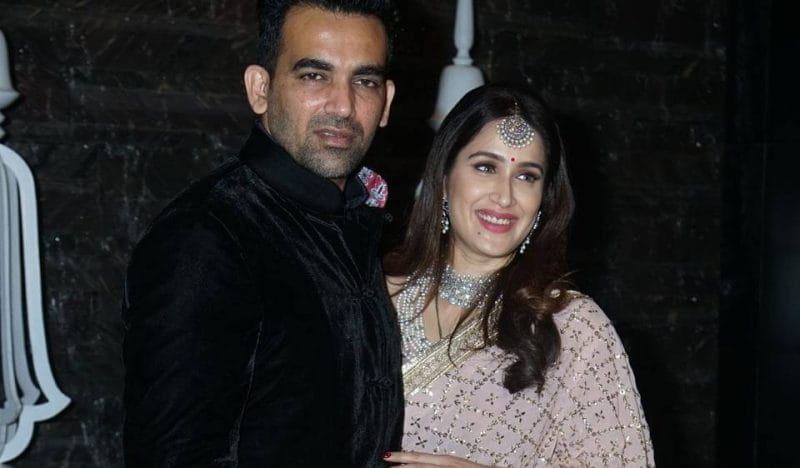 Zaheer Khan, Sagarika Ghatge's Cocktail Party