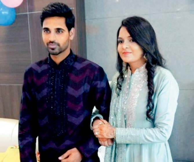 Bhuvneshwar Kumar Ties The Knot With Nupur