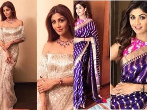 Top Saree Looks Shilpa Shetty