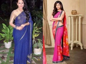 Easy Tricks To Look Slim And Tall In A Saree