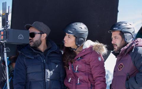 Salman Khan, shoots -22 degrees