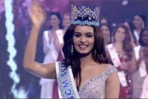 India, Manushi Chhillar, Wins Miss World 2017