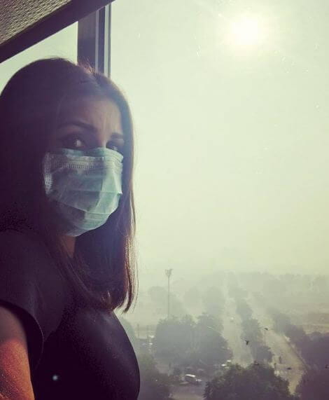 Delhi Pollution smog