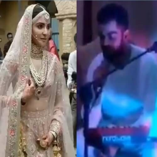Virat Kohli Sang Romantic Song For Anushka
