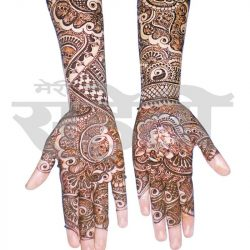 Bridal Mehandi Designs