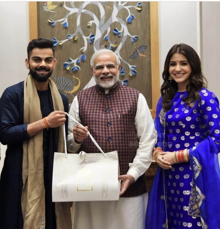 Virat, Anushka, Narendra Modi, Wedding Reception
