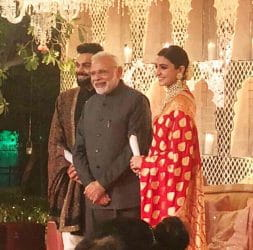 PM, Narendra Modi, Grand Reception, Virat, Anushka