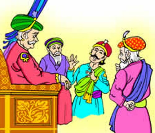 Akbar-Birbal Tale, 3 Weird Questions