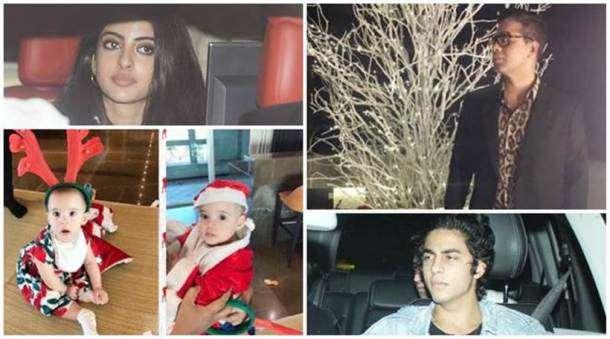 Bollywood celebs, Karan Johar's Christmas party