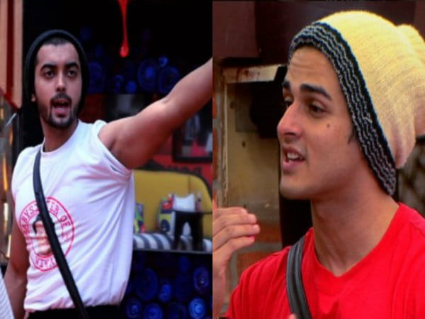 Luv Tyagi, Priyank Sharma, out of the house