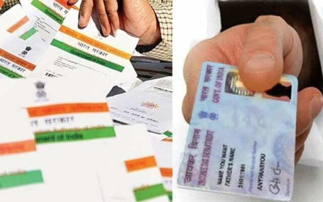 how to link aadhaar card to my pan card