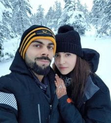 Anushka Sharma, Virat Kohli's First Honeymoon Picture
