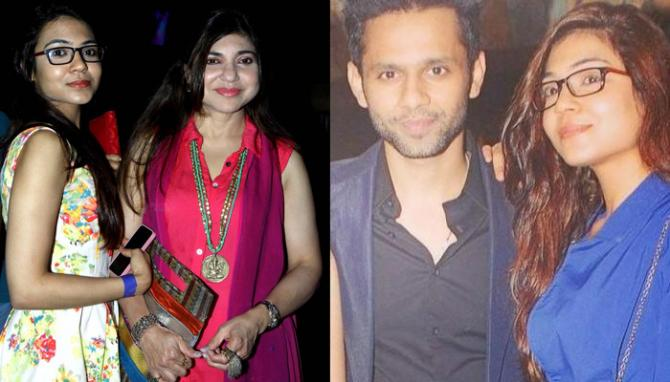 Alka Yagnik, Daughter Engagement