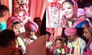 Bharti Singh, Haarsh Limbachiyaa, wedding