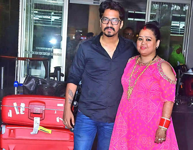 Bharti Singh First Pic After Marriage